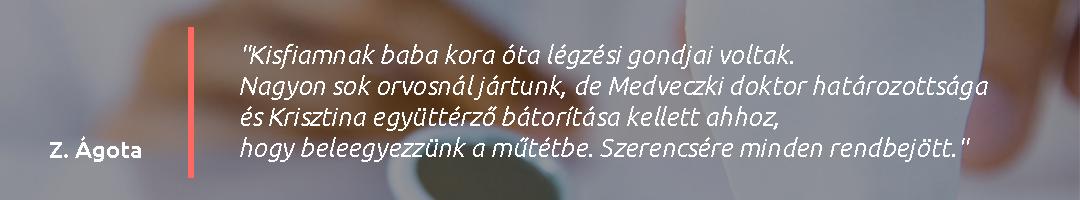 Gáspár Medical Dr. Medveczki Zoltán páciens vélemény