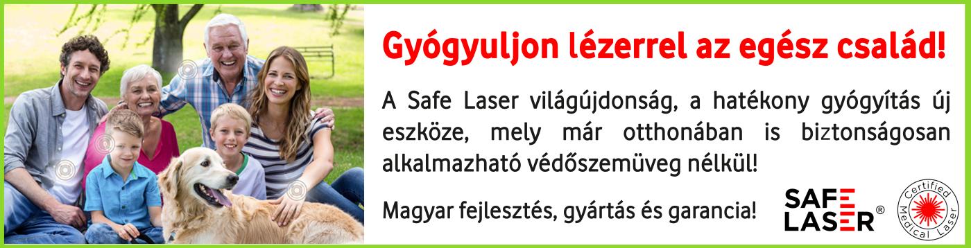gyógyuljon otthon safe laserrel széf lézerrel sl150 sl500